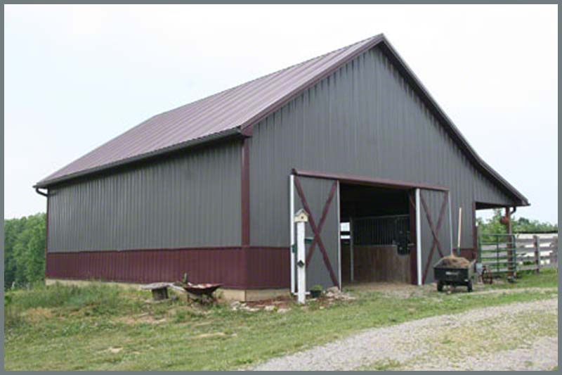 Steel Buildings Horse Barn