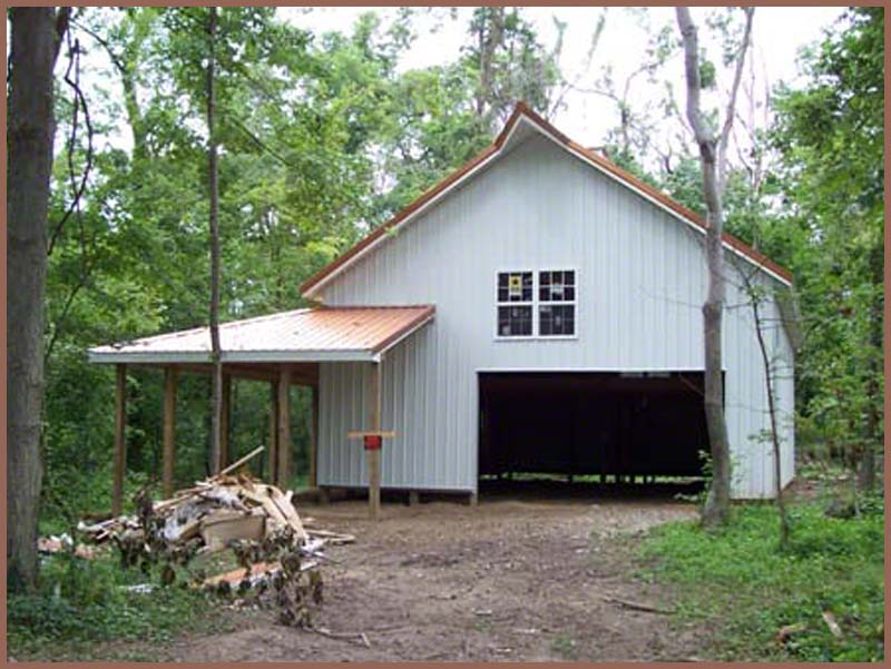 Steel buildings and weatherking for Metal building cabin
