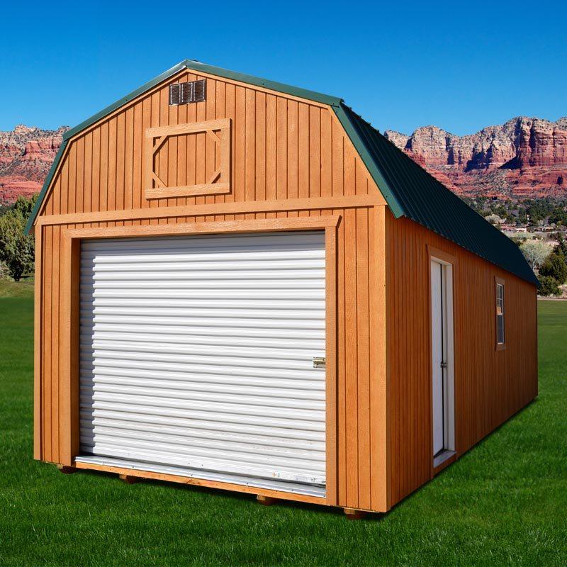 Duratemp Lofted Garage Carportsaluminum Com And Weatherking